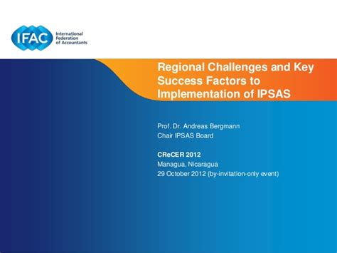 factors of 481 session 1c regional challenges and key success factors to