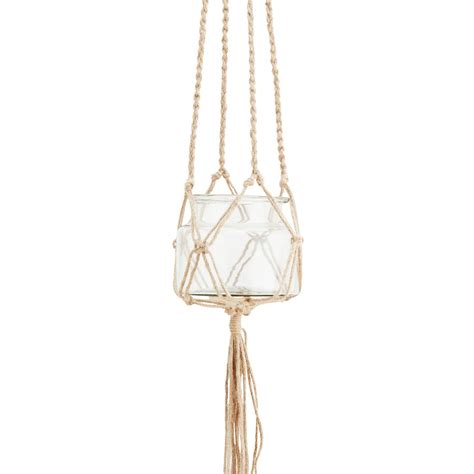 Jute Plant Hanger - jute plant hanger by out there interiors