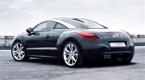 pug rcz peugeot rcz coup 233 2009 official pictures by car magazine