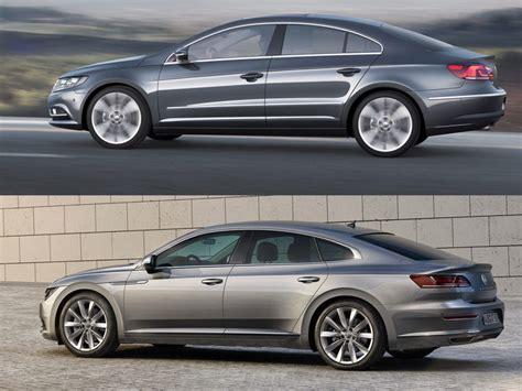 Volkswagen Cc Vs Passat by Vergelijking Volkswagen Arteon Versus De Passat Cc