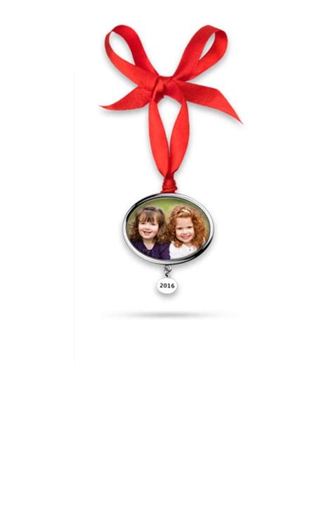 photo ornaments personalized holiday ornaments