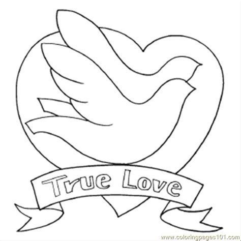 true love coloring pages bird to color free printable coloring page 68 true love