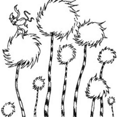 truffle tree coloring page 1000 ideas about truffula trees on pinterest the lorax dr
