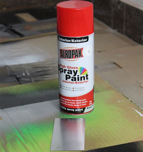 non toxic aerosol spray paints 235g with multi colors for metal wood glass