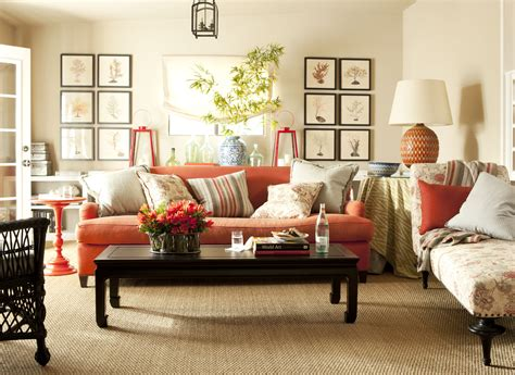 orange living room furniture brown and orange living room with walls leather living