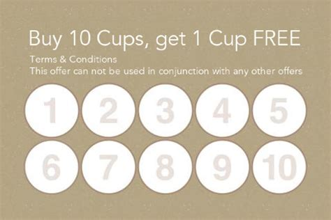 coffee shop loyalty card template coffee loyalty cards www pixshark images galleries