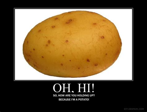 Potatoe Meme - image 118717 i m a potato know your meme