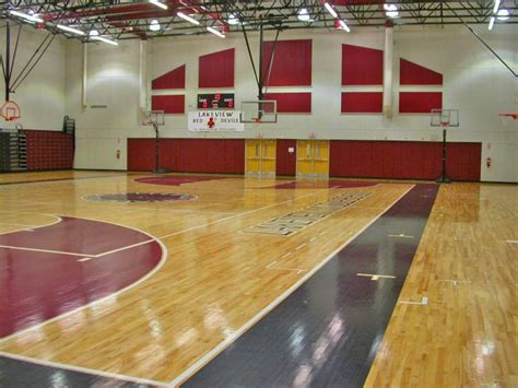 lakeview middle school gymnasium wharton smith