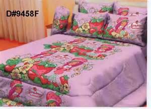 strawberry shortcake bedroom set bedsheet strawberry shortcake set d 9458f moresales com