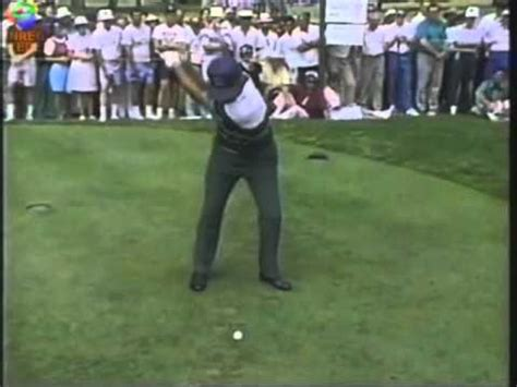 lee trevino swing lee trevino wedge and 4 iron swings youtube