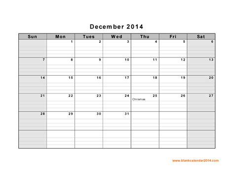 printable december 2014 calendar with lines printable dec calendar with lines blank calendar design 2018