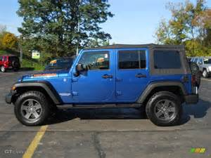 Pearl Jeep Water Blue Pearl 2010 Jeep Wrangler Unlimited