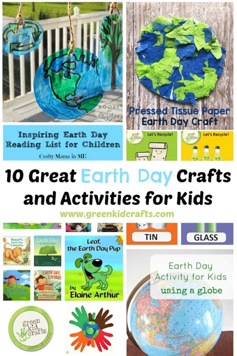 earth day arts and crafts for 10 great earth day crafts and activities for green