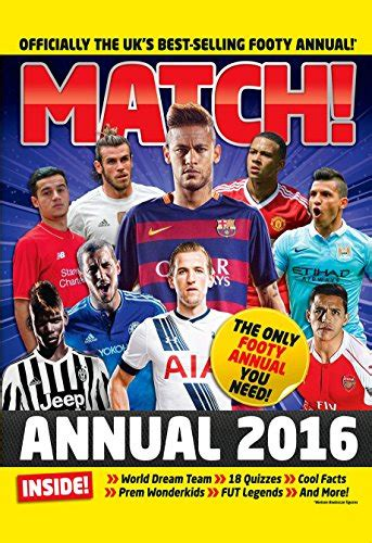match annual 2016 import it all