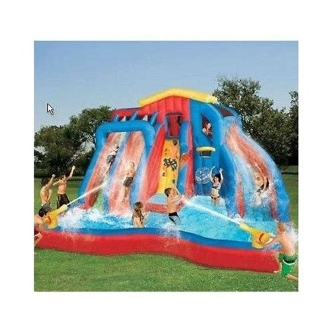 backyard inflatable pools 25 best images about fun water slides on pinterest pool