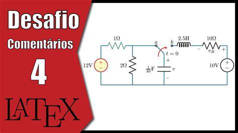 tutorial latex tikz desafio em tikz latex circuitos tutorial youtube