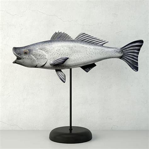Piyama Anak Gw 136 K Fish george strunk handmade wooden fish sculpture 3d cgtrader