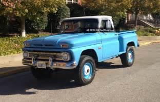 1966 chevrolet c10 factory 4x4 truck