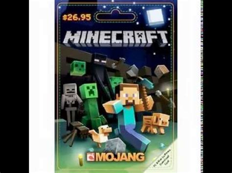 Gift Card Minecraft - free minecraft gift card giveaway youtube