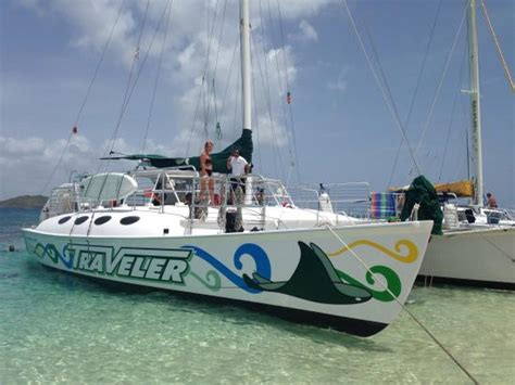 catamaran traveler fajardo tours crew picture of traveler catamaran fajardo tripadvisor