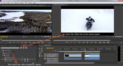 adobe premiere pro video transitions create transition in premiere pro trickyphotoshop