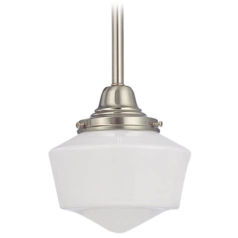 Schoolhouse Style Pendant Lighting 6 Inch Schoolhouse Mini Pendant Light Fc3 09 Gf6 Destination Lighting