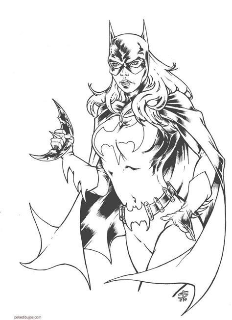 imagenes de joker para colorear dibujos de batgirl para colorear