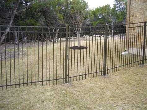 New Wrought Iron Garden Fence Bitdigest Design Metal Garden Fencing Ideas