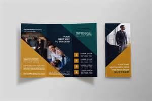 business tri fold brochure nil as group