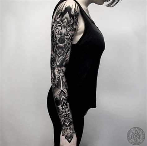 40 attractive sleeve tattoos for women tattooblend