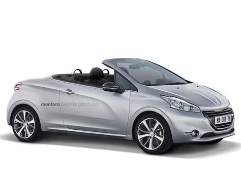 peugeot 208 cabriolet for sale une peugeot 208 cc jusqu 224 200 ch en 2015
