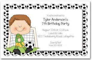 boys soccer time invitations soccer invitations