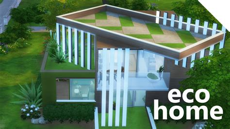 eco house the sims 4 build eco house