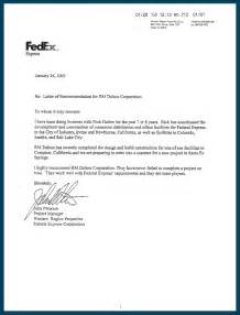 Cover Letter For Fedex by Usa Cover Letter Address