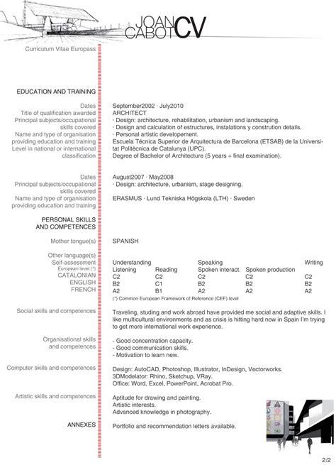 Cabot Resume by About J Cabot Cv J Cabot Architecture Portfolio