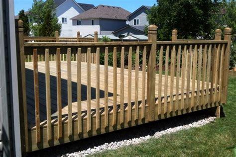 Wood Deck Handrail Ideas