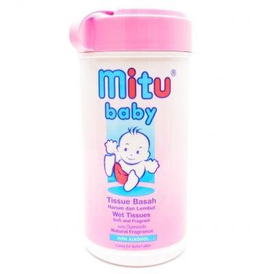 Tisu Basah Mitu Tissu Basah Mitu Mitu Baby Wipes 20 Sheets large2 0501785 jpg