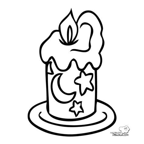 dibujos para pintar de navidad vela magica dibujalia dibujos para colorear navidad vela