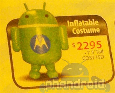 get your very own inflatable android costume for only $2295