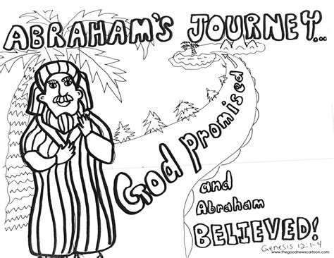 bible coloring pages abraham and sarah abraham lot coloring colorine net 16233 abraham bible