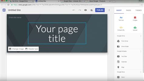 tutorial video website the new google sites 2016 tutorial youtube