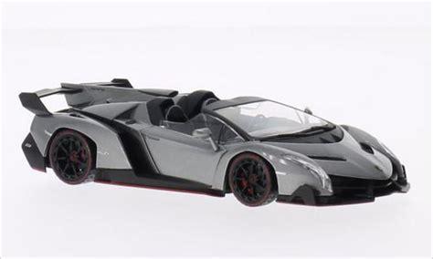 Kyosho Diecast Lamborghini Veneno 1 43 Scale Grey 1 lamborghini veneno roadster metallic gray green kyosho diecast model car 1 43 buy sell diecast