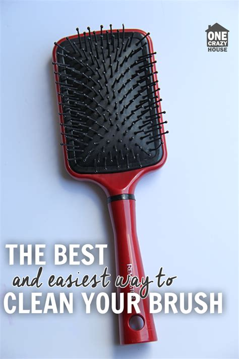 Cleaning Hair From by How To Clean Hair Brushes The Easy Way