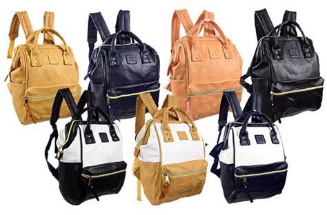 Leather Karakter 42 karakter manila leather rucksack bag promo