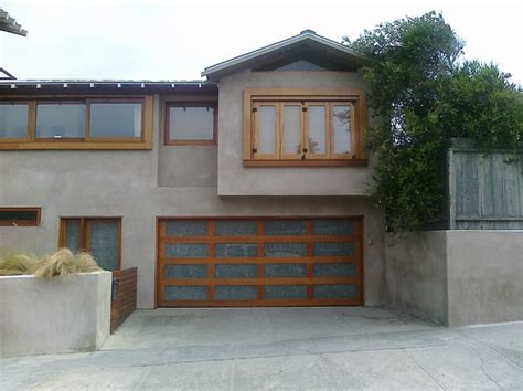 Genuine Mahogany Custom Glass Door In San Diego Custom Garage Doors San Diego