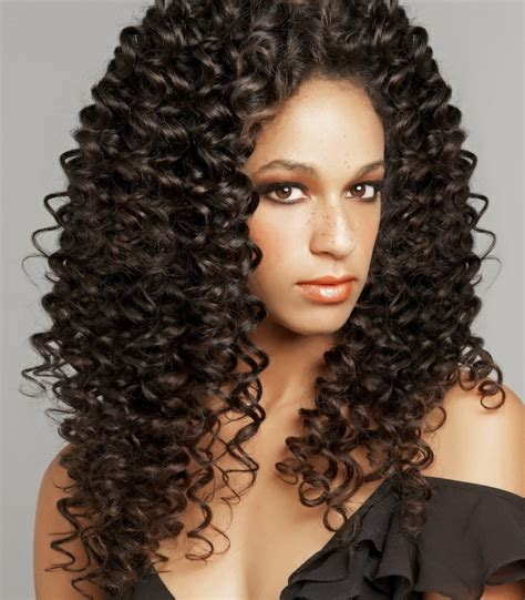 tight perms hair on old woman weave spiral perms for black women short hairstyle 2013