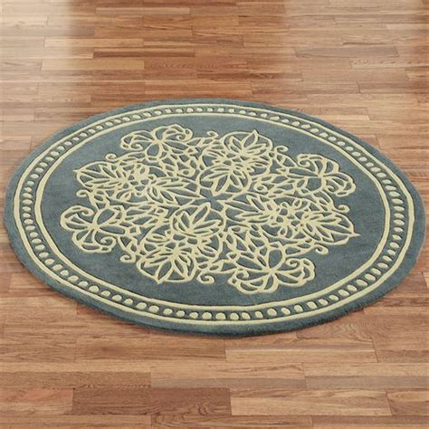 round accent rug lucia lace wool round area rugs