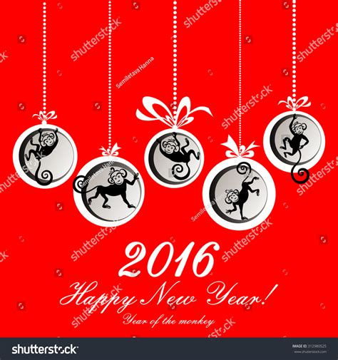new year year of the monkey greetings happy new year 2016 year of the monkey happy new year