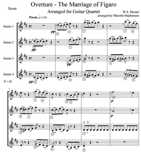 Marriage of figaro overture clarinet choir videos