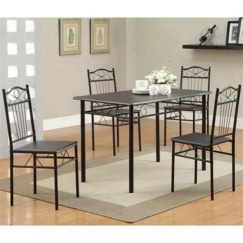 metal dining room table sets houseofaura metal dining sets metal dining room set